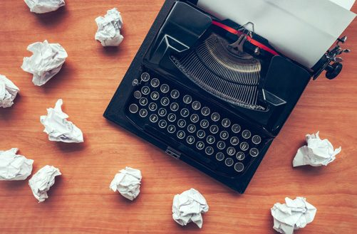 Wachten op inspiratie of hoe je wel aan het schrijven komt klein